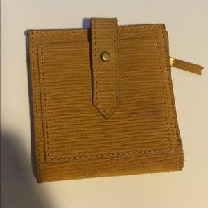 Madewell post billfold wallet